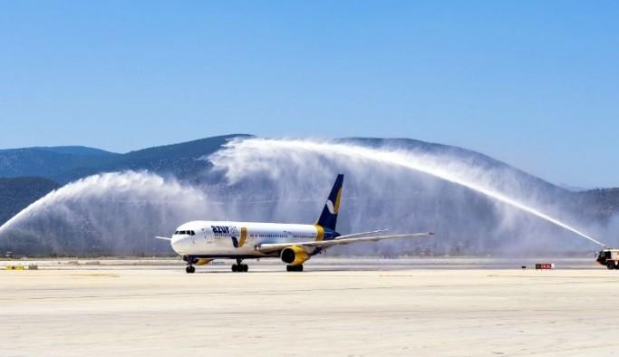 Hava yoluyla Muğla'ya gelen turist sayısında büyük düşüş