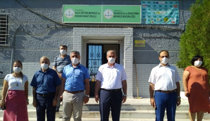 İl Milli Eğitim Müdürü Okumuş'tan Nazilli ziyareti