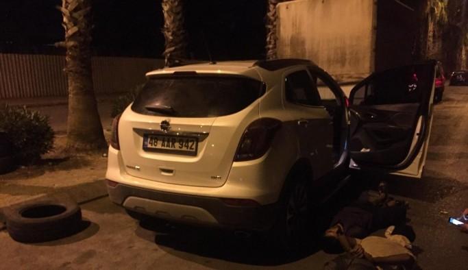 Marmaris'te çalınan araba Antalya'da bulundu