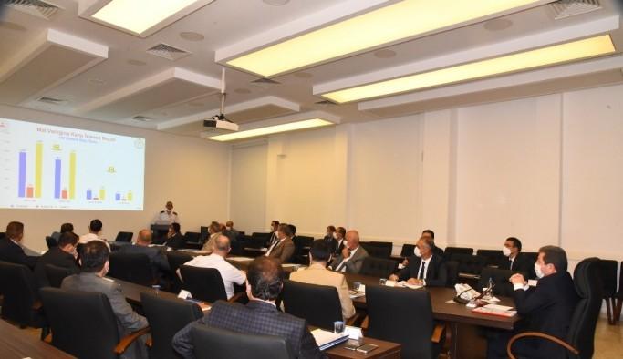 Muğla'da Asayiş Koordinasyon Toplantısı yapıldı
