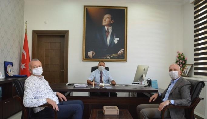 Sarayköy Kaymakamı Celalettin Cantürk göreve başladı