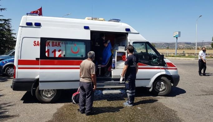 Testi pozitif çıkan şahıs yolcu otobüsünde yakalandı