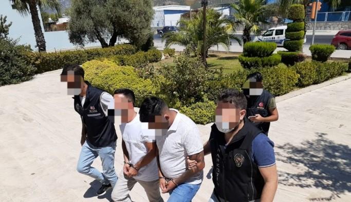 Uyuşturucu ile yakalanan şahıslar tututlandı