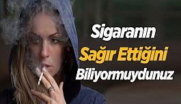 Sigaranın sağır ettiğini biliyormuydunuz