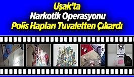 Uşak'ta Narkotik Operasyonu