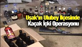 Uşak'ın Ulubey İlçesinde Kaçak İçki Operasyonu
