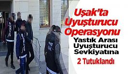 Uşak'ta Çeyiz Arasında Uyuşturucu Sevkiyatına, 2 Tutuklama