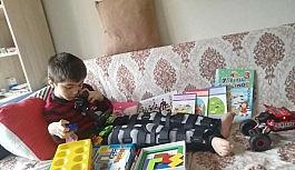 Uşak'lı 10 yaşındaki çocuğun acısını Sivas'lı akranları paylaştı