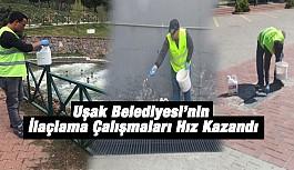 Uşak Belediyesi'nin İlaçlama Çalışmaları Hız Kazandı