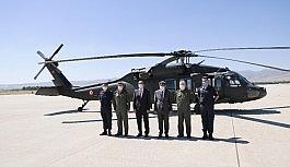 Jandarma'dan helikopter ile hava destekli trafik denetimi