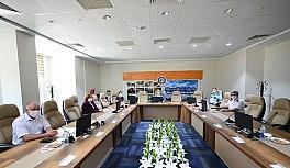 Uşak Üniversitesi'nde DGS ve ALES sınav koordinasyon toplantısı düzenlendi