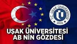 Uşak Üniversitesi Bir Kez Daha AB Projesi...